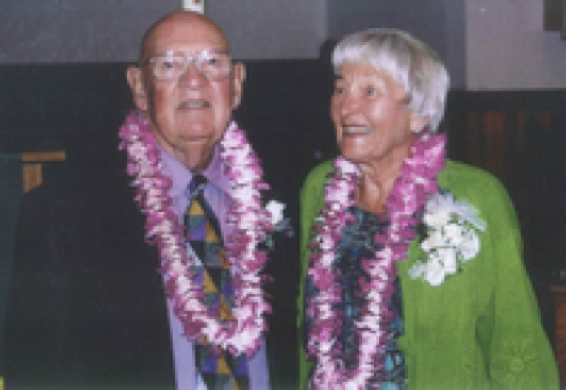 by: CONTRIBUTED PHOTO - Wayne and Marjory Whitbeck were well known around Beaverton for their support of libraries and reading programs. Wayne's estate donated more than $83,000 to the Beaverton City Library.