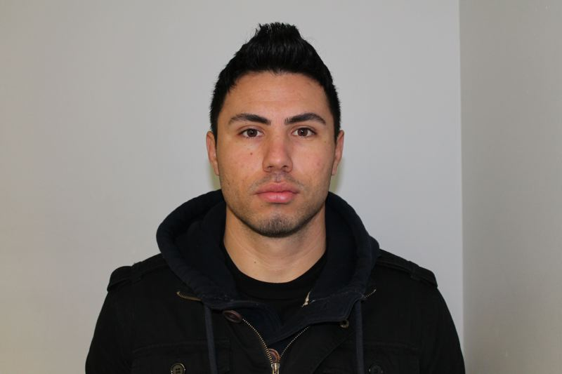 by: BEAVERTON POLICE DEPARTMENT - Victor Moreno-Hernandez, 27, was arrested on Tuesday as part of an investigation into human trafficking and prostitution around Beaverton.