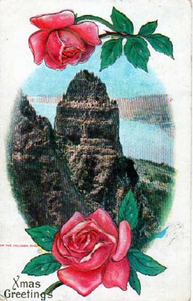 by: SUBMITTED - This card features the Columbia River Gorge.