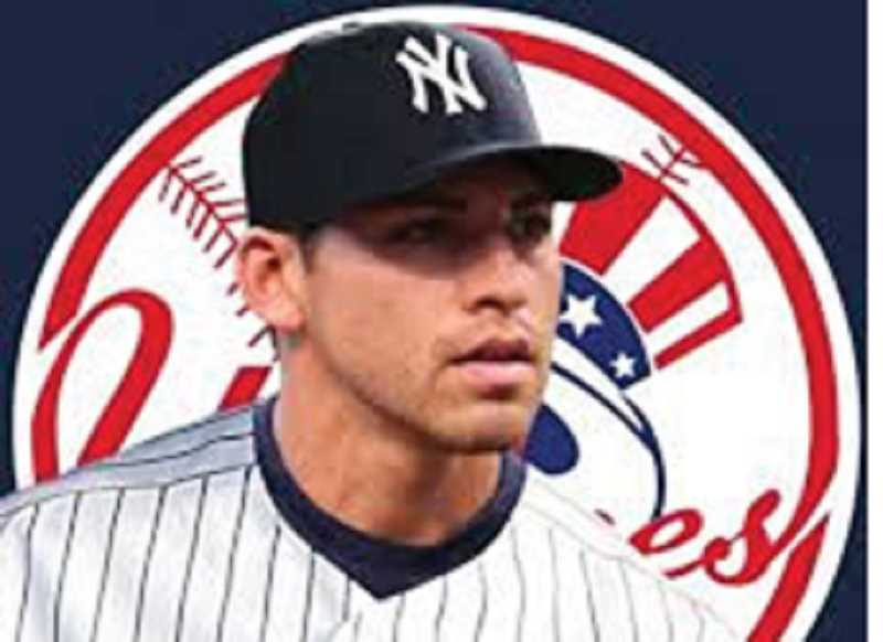 by: SUBMITTED PHOTO - Jacoby Ellsbury sports his new Yankees uniform.