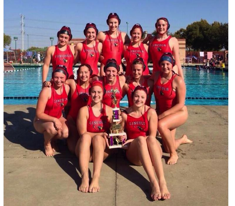 by: COURTESY OF LINCOLN WATER POLO - The Lincoln Cardinals swept through the Metro League, then finished second in state.