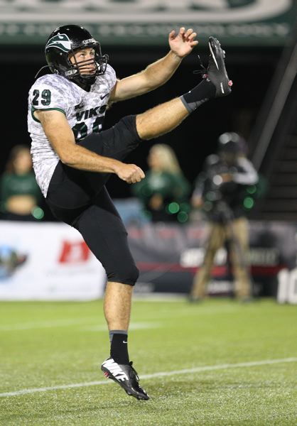 by: COURTESY OF PORTLAND STATE UNIVERSITY - Portland State punter Kyle Loomis is a first-team All-American.
