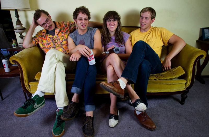 by: TRIBUNE FILE PHOTO: CHRISTOPHER ONSOTT - The Sound Outside is (from left) Jeff Munger on lead guitar, Ford Tennis on drums, Sallie Ford on rhythm guitar and vocals, and Tyler Tornfelt on standup bass. The group is calling it quits at the end of this year.