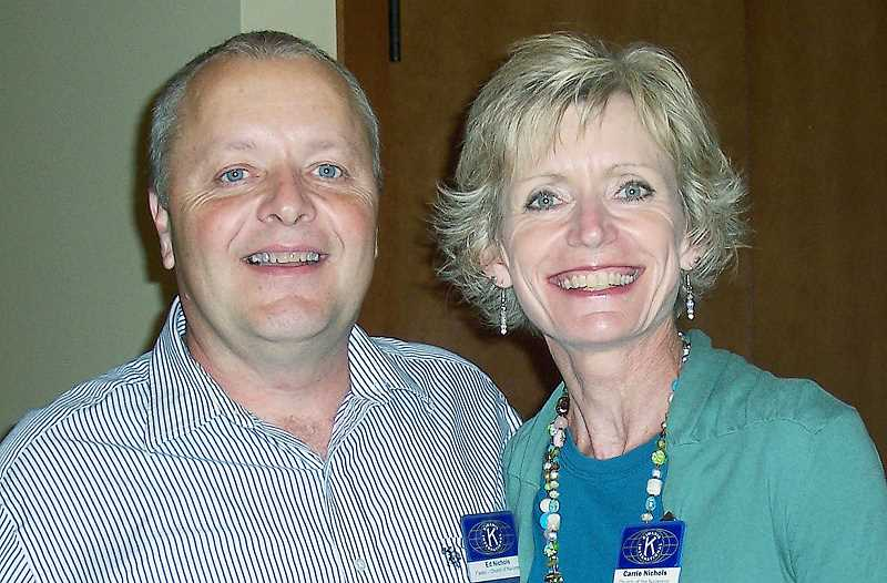 by: SUBMITTED PHOTO - New journey - Pastor Ed Nichols and his wife Carrie stepped down from Newberg Church of the Nazarene in July and are preparing to do missionary work on the Caribbean island of Dominica next year.
