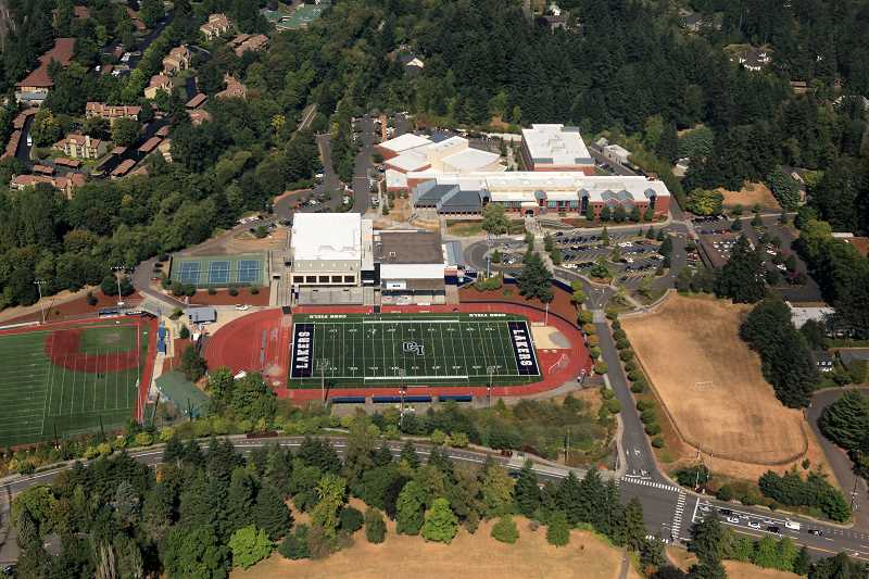 by: LAKE OSWEGO SCHOOL DISTRICT - The Lake Oswego School District reached a settlement on a legal malpractice suit for $1.5 million with law firm Davis Wright Tremaine LLP. The school district says the firm didnt file a lawsuit in a timely manner against LSW Architects, which worked on an $85 million, bond-funded project for improvements at local school buildings, including the rebuilding of Lake Oswego High School, shown here.