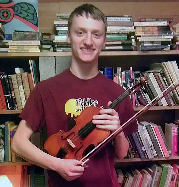 by: SUBMITTED PHOTO - Lakeridge High graduate Jonathan DeBruyn is an award-winning violinist.