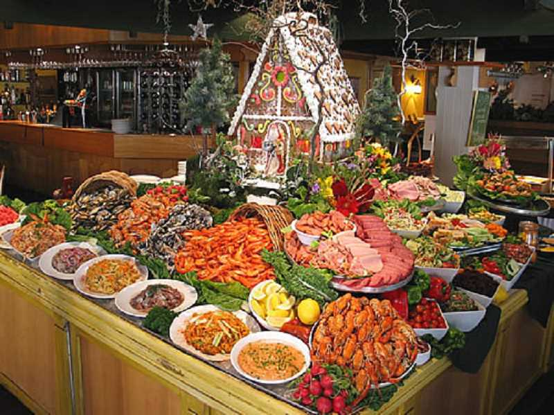 by: SUBMITTED PHOTO   - The Scandinavian tradition of serving a smorgasbord is a festive way to treat family and friends during the holidays. All the family favorites can be presented at one time.
