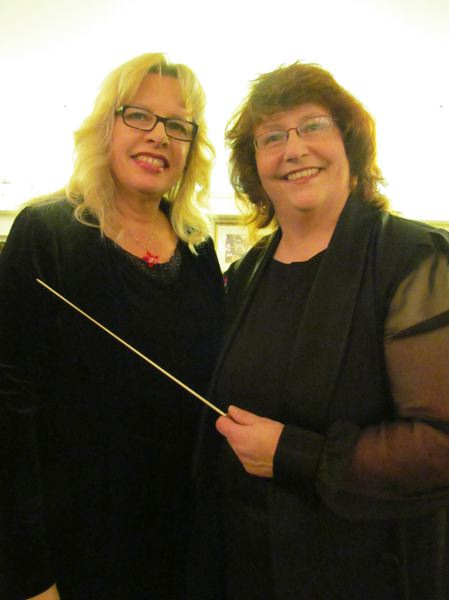 by: PHOTO BY DICK TRTEK - Linda Vasey and Colleen Wheeler are founders and directors of String Connection.