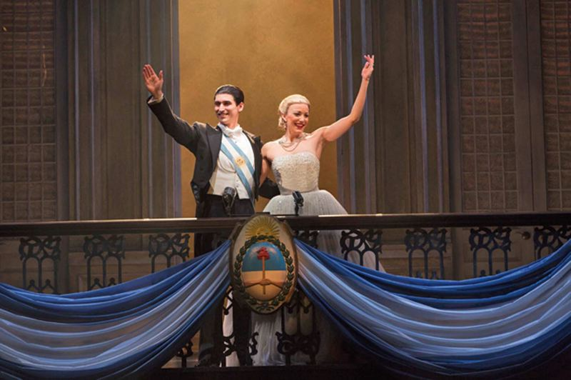 by: COURTESY OF RICHARD TERMINE - Evita, presented by Broadway Across America, comes to Portland to tell the story of Argentinian First Lady Eva Peron, Jan. 7-12.