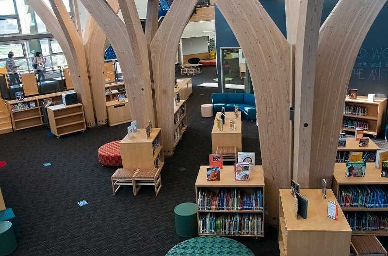 by: FILE PHOTO - Although West Linn's Trillium Creek Primary School was the official winner, Lowrie's identical design earns it a share of the National School Board Association's architecture award.