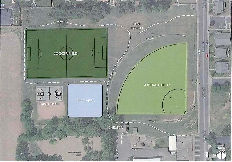 by: CITY OF MOUNT ANGEL - The city of Mount Angel chose Cameron McCarthy's alternative design concept for Ebner Park's renovation at its last city council meeting.