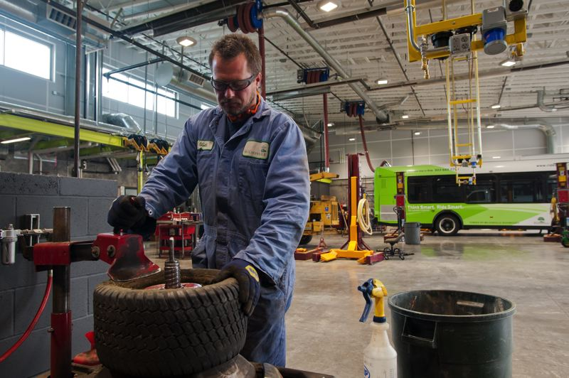 by: SPOKESMAN PHOTO: JOSH KULLA - The South Metro Area Regional Transit agency unveiled a new $6.5 million maintenance facility and operations center.
