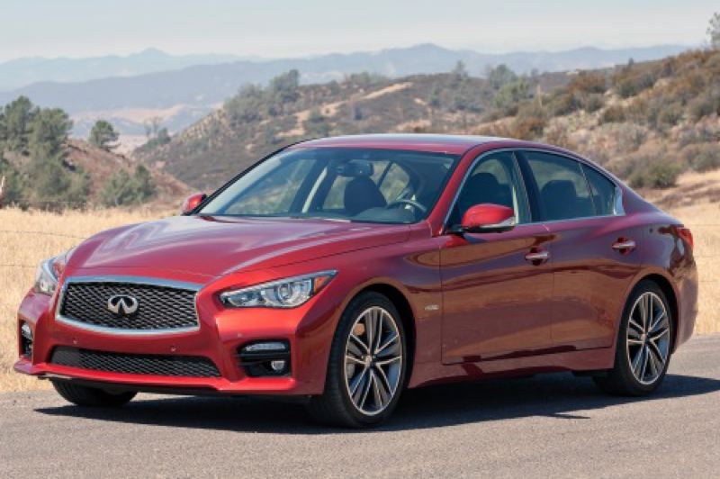 by: NISSAN MOTORS CORPORATION USA - The 2014 Infiniti Q50S drew looks everywhere we went.
