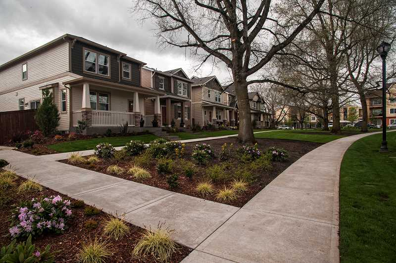 by: JOSH KULLA - The 500-acre Villebois development in Wilsonville is currently just half built, with 1,000 homes completed out of a planned 2,600.