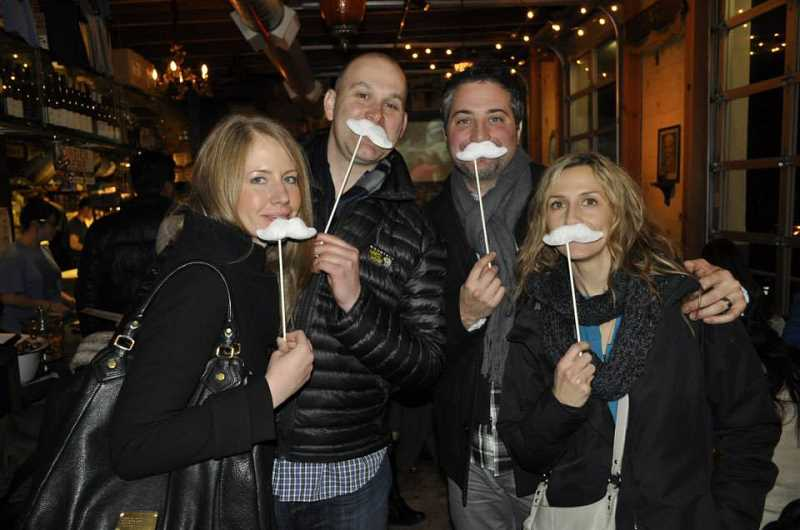 by: SUBMITTED PHOTO: WHITE MUSTACHE URBAN ADVENTURE CO. - White Mustache Urban Adventure Co. held its inaugural tour in Portland last month.