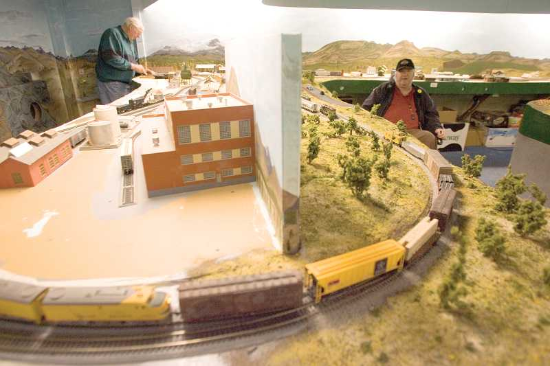 by: KEVIN SPERL - Brad Peterson is one of the original members of the Ochoco Valley Model Railroad Club, created in 1994.