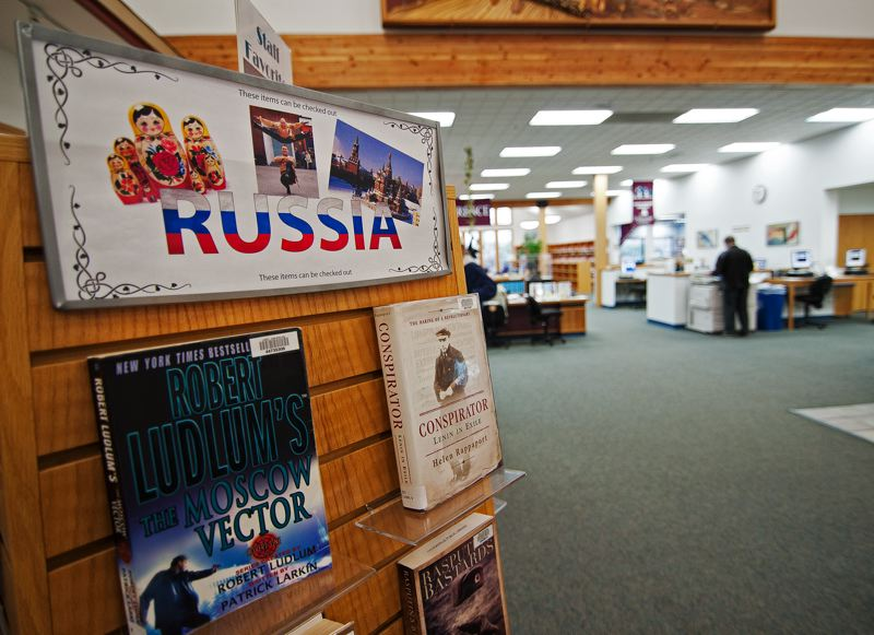 by: SPOKESMAN PHOTO: JOSH KULLA - While it doesnt really mean Ludlum spy thrillers, the Wilsonville Librarys Hot Reads, Cold Nights: Sochi 2014 will focus adult readers on the rich literary tradition found in Russia.
