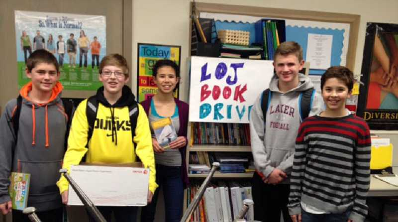 by: SUBMITTED PHOTO - Leadership kids are, from left: Kevin Jarrett, Mikey Mercep, Selah Joyce, Chris Todd and Brandon Day.