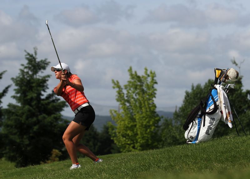 by: TIMES FILE PHOTO - Beaverton High girls golfer Gigi Stoll committed to the University of Arizona for the 2015-16 season.