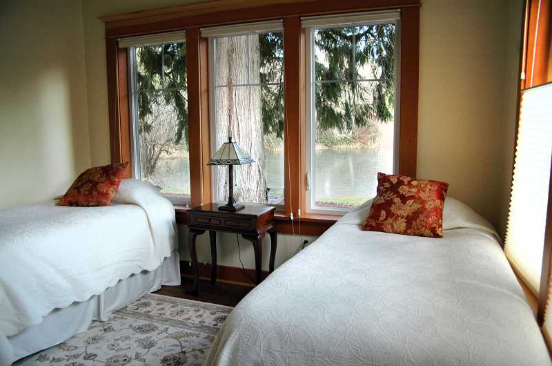 Photo Credit: ISABEL GAUTSCHI - Most of the guest rooms offer views of the lake.