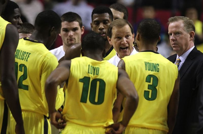 by: TRIBUNE FILE PHOTO: JONATHAN HOUSE - Oregon coach Dana Altman wants to see better defense out of his Ducks in Sunday's home game against Stanford.