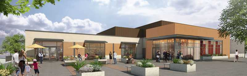 by: CITY OF SHERWOOD - Here's what the new Sherwood Cultural Arts Community Center will look like.