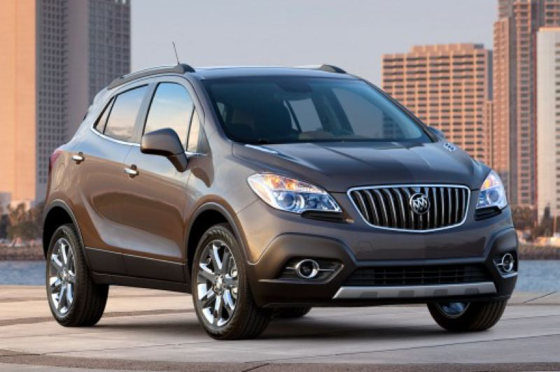 by: GENERAL MOTORS CORPORATION - The 2014 Buick Encore is a surprisingly complete package.