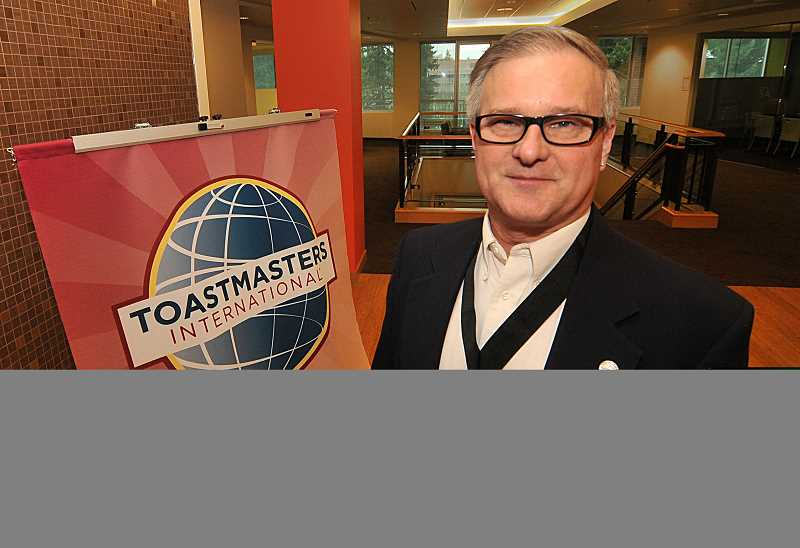 by: VERN UYETAKE - Erik Bergman has gone from being a reluctant new member to being a Distinguished Toastmaster. Along the way he has helped some unlikely people.