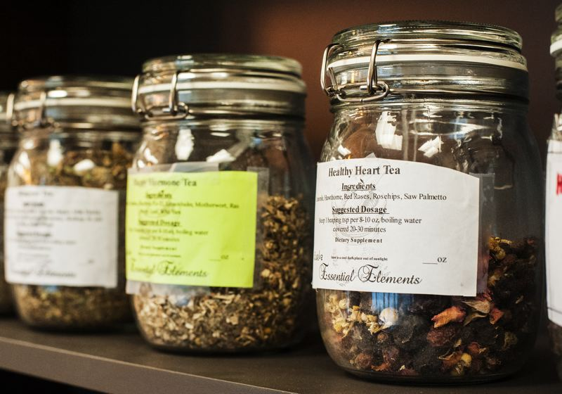 by: SPOKESMAN PHOTO: JOSH KULLA - Sun Holistic Health offers an array of herbal blends that have traditionally been used in Chinese medicine.
