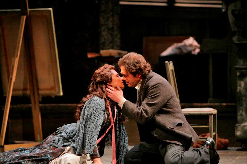 by: SUBMITTED PHOTO - Portland Opera-to-Go will present a fully stated, English version of Puccinnis La Boheme as the opening concert in the Mountain Park Family Concert Series Jan. 17.