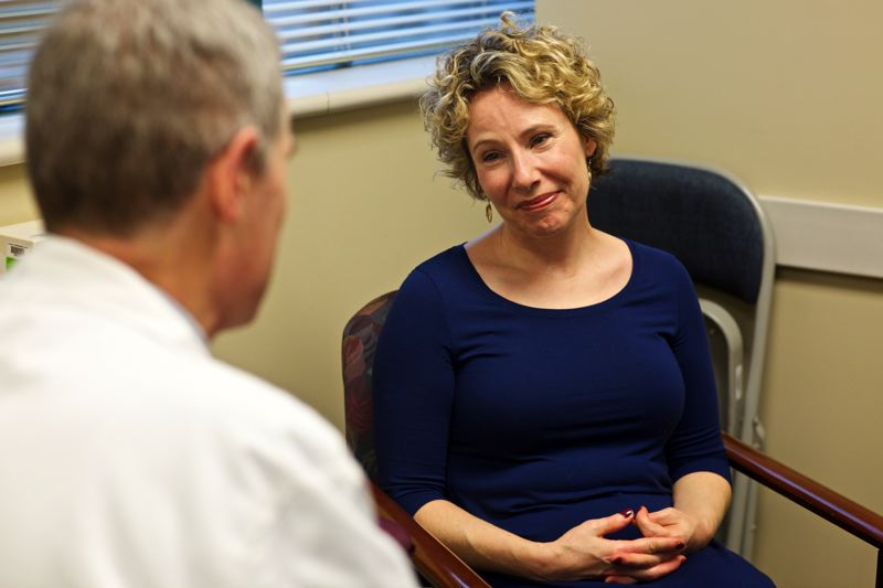 by: TRIBUNE PHOTO: JAIME VALDEZ - Josie Henderson decided not to join a clinical trial for breast cancer because she didnt feel comfortable giving her care over to researchers.