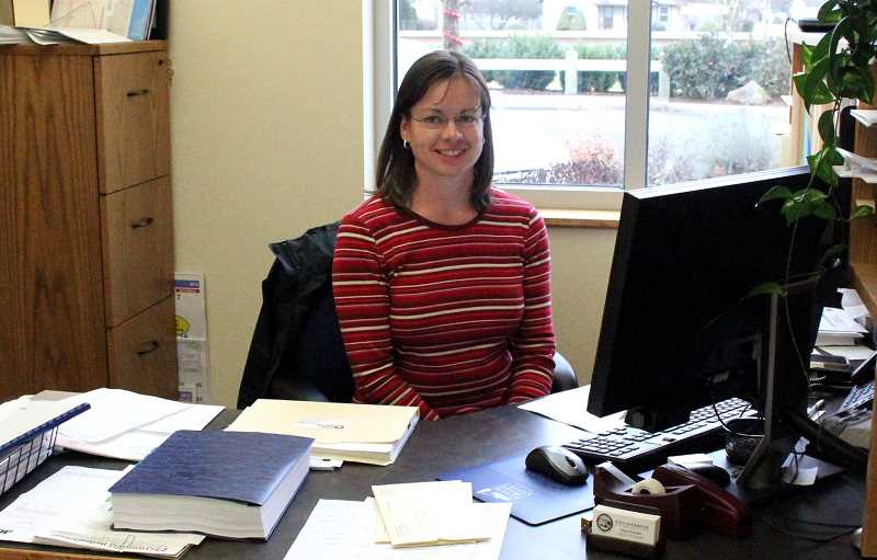 by: MAYGAN BECKERS - Susie Zwemke is Gervais' new city manager, her first day being Jan. 2.