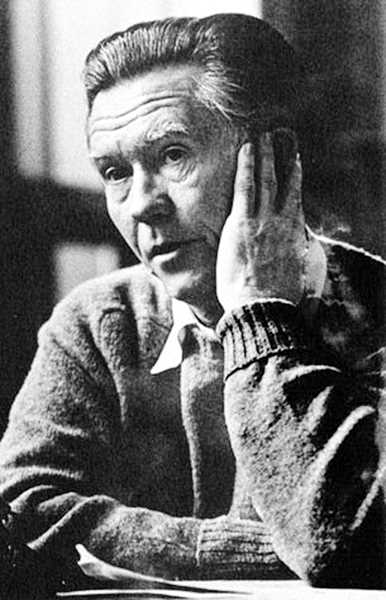 by: SUBMITTED - William Stafford was the Oregon poet laureate between 1970 and his death in 1993.