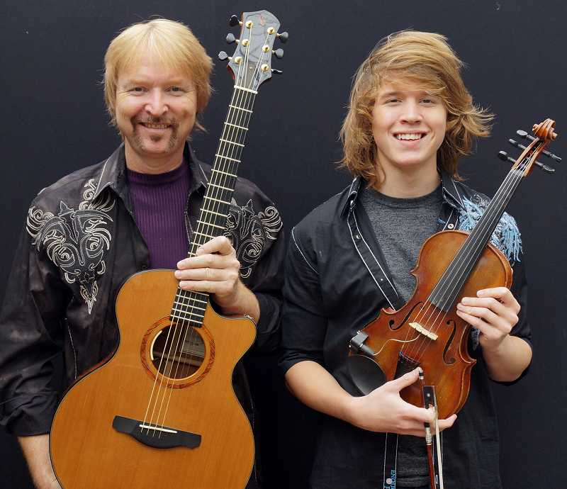by: COURTESY PHOTO - Tim and Myles Thompson, who are blazing a trail as a father-son duo, will be in Forest Grove this weekend.