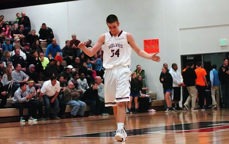 by: DAN BROOD - BIG NIGHT -- Tualatin junior Jacob Bennett scored a game-high 21 points in Friday's game.