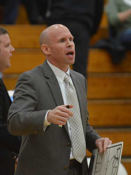 by: JEFF GOODMAN / FILE - Dane Walker developed strong relationships in Canby before taking the head coaching job at Lakeridge, his alma mater.