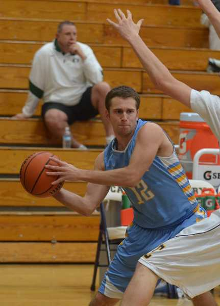 by: JEFF GOODMAN / FILE - Michael Walker, who grew up in Canby, was a top-10 scorer in the Three Rivers League as a senior at Lakeridge.