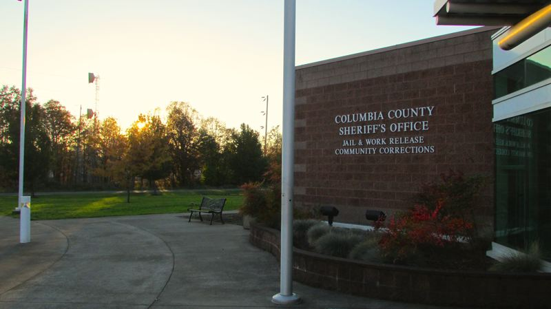 by: SPOTLIGHT FILE PHOTO - The Columbia County Jail, pictured days before county voters shot down a $9.57 million levy county officials wanted to keep the facility funded for another four years last fall.