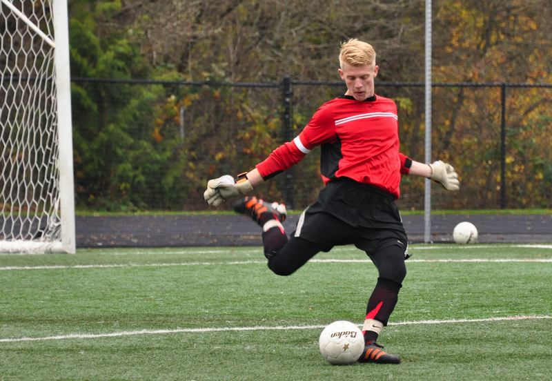 by: COURTESY OF BETH MUMFORD - Austin Rogers has finished early at Portland Christian High and will launch his professional soccer career this summer, playing for a team in Greece.