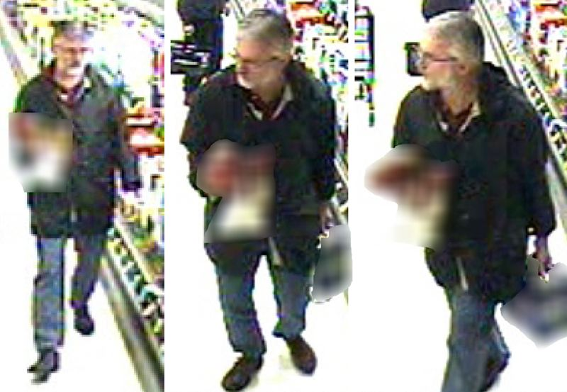by: CCSO  - The Clackamas County Sheriff's Office releases additional surveillance photos of the suspect in this case.