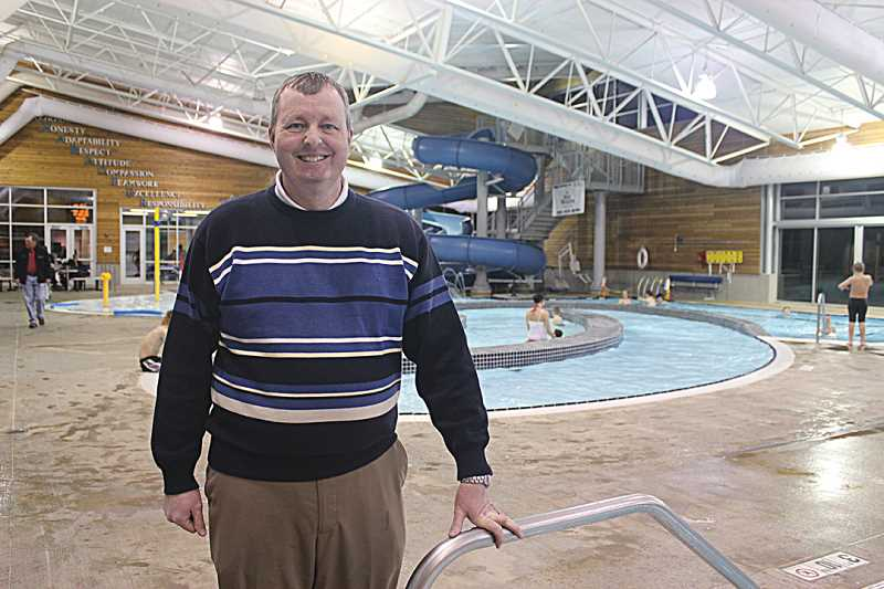 Todd Andres will start work Jan. 20 as the new Madras Aquatic Center executive director.