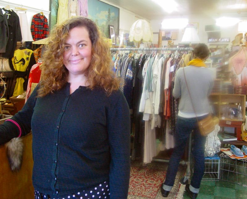 by: MERRY MACKINNON - Red Fox Vintage Co-Owner Erin Beauchamp tells THE BEE that shes excited about New Seasons coming to Woodstock. The new market will be adjacent to her store on Woodstock Boulevard.