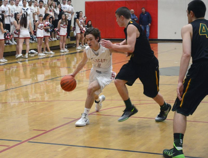 by: TIMES FILE PHOTO - Westview senior starting point guard David Coffey leads an experienced Wildcat team that beat Beaverton by three in its Metro League opener on Friday.