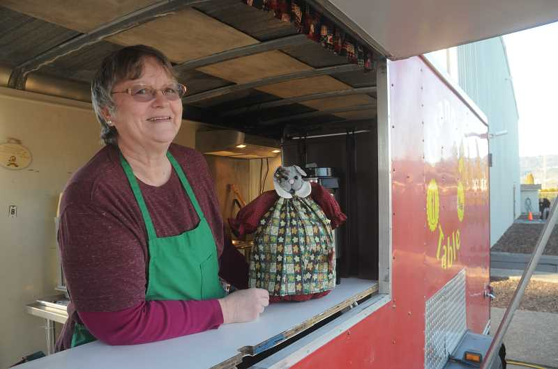 by: GARY ALLEN - Open for business -- Granny's Table is a dream come true for Rita Horton, who operates the food truck in her spare time as a fundraising tool.