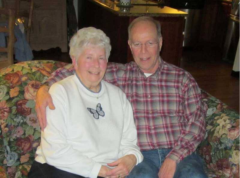 by: BARBARA SHERMAN - COUNTING THEIR BLESSINGS - Nancy and Elliot Klearman love living in King City, where they have joined the King City Bible Study Group and the nearby Life Roads Fellowship in Lake Road.