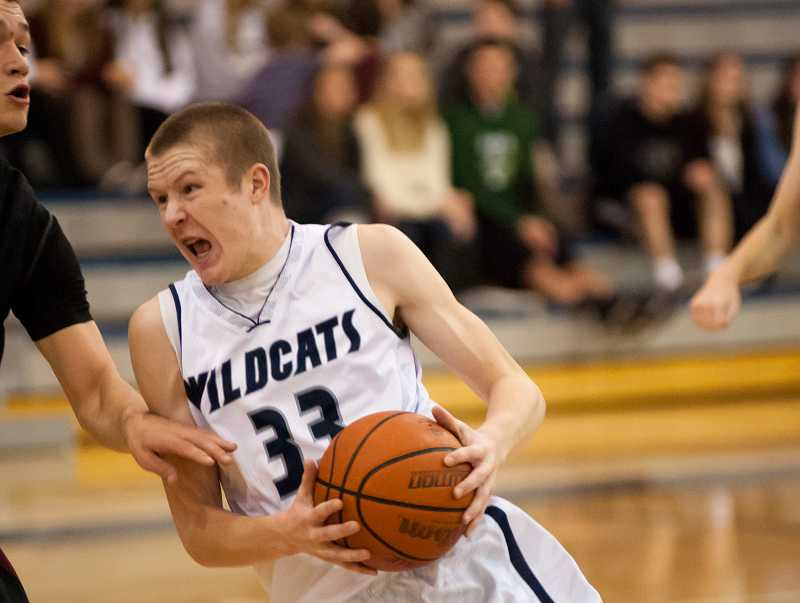 by: GREG ARTMAN / FILE - Freshman wing Zach Reichle has become a steady source of offense for the Wilsonville boys basketball team.