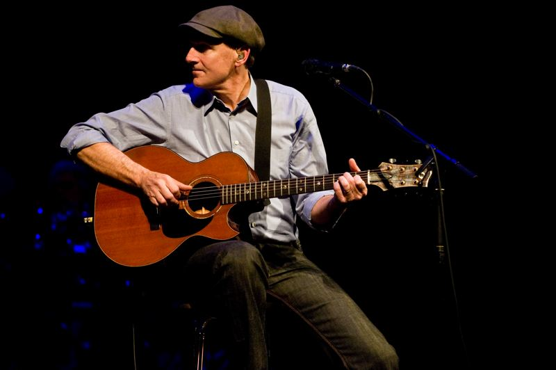by: COURTESY OF JAMES O'MARA - James Taylor will bring his all-star band to the Moda Center on May 30 as one of eight new shows added to his 2014 tour.