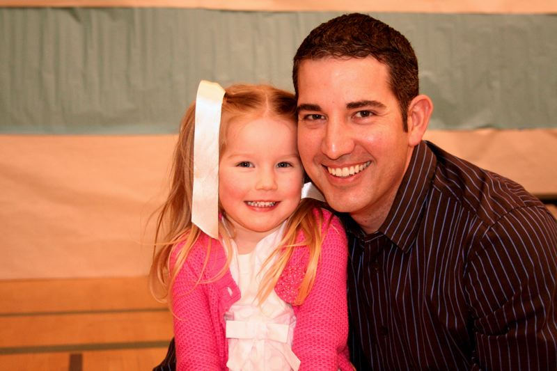 by: SUBMITTED PHOTO - A local daddy and daughter at last year's Daddy Daughter Night.