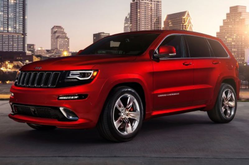 by: CHRYSLER LLC - The 2014 Jeep Grand Cherokee SRT - yes, it's got a HEMI, and a lot more, too.