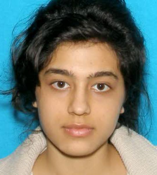 by: COURTESY OF GRESHAM POLICE DEPARTMENT - Momtaz Aqaei, 18, has not been seen since leaving for her job Sunday morning, Feb. 2, in Gresham.